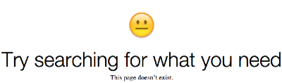 "Screencap from a microsoft page with a bemused emoji and the words ""Try searching for what you need. This page doesn't exist."""