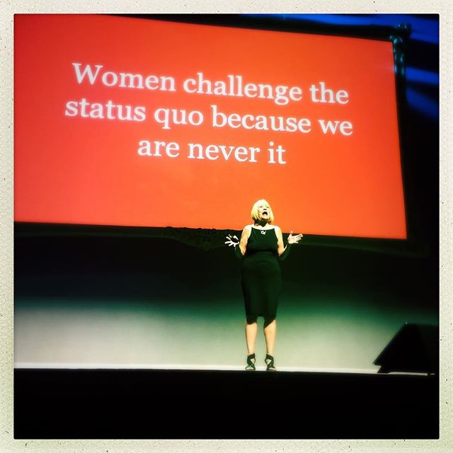 Current call to action from the amazing @cindygallop #webstock