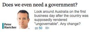 RT @AntFarmAnt: Does we? #auspol…