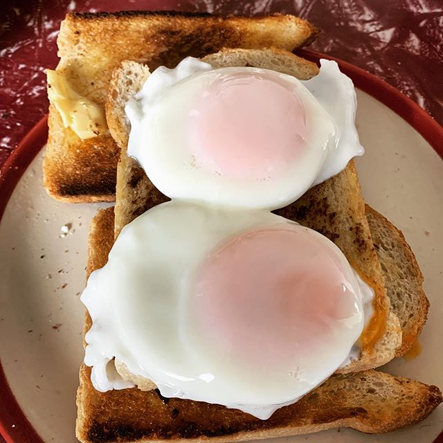 I still get so much satisfaction from poaching eggs to perfection at home.